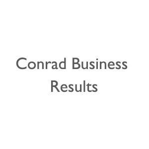 Conrad Business Results