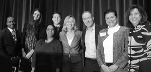 Hub Group's Team with Talented Workforce Co-Chair Susan Lindquist